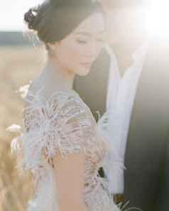 Photo byKT Merrywith gown byMarchesa