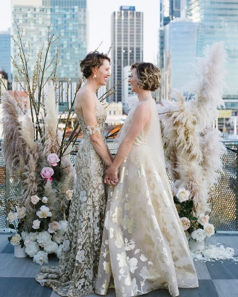 Photo byThe Day Weddingswith styling byPop-Up Planning Co.