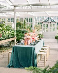 Photo byThe Ganeyswith design + florals byGather Design Company